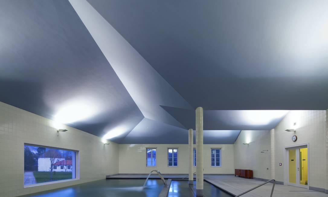 O spa com tratamentos com águas da fonte Pedras Salgadas foi projetado pelo premiado Álvaro Siza Vieira Divulgação