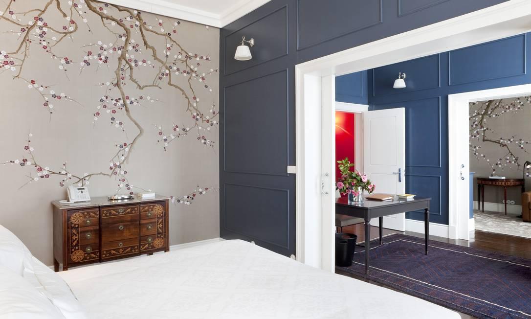 Os quartos confortáveis, com saleta e varanda Divulgação
