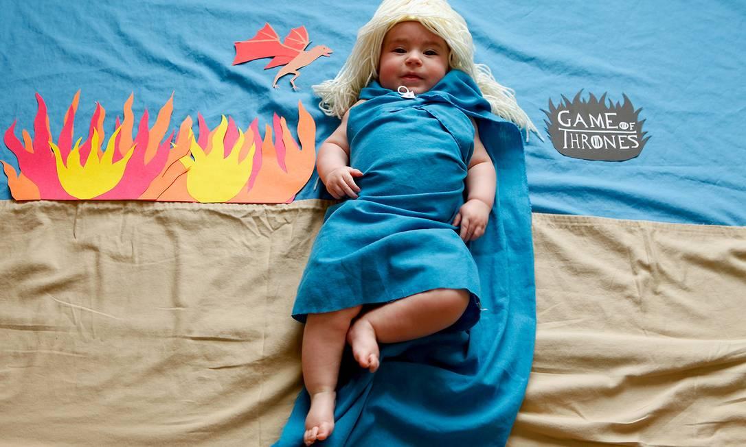 """Olivia virou a rainha dos dragões de """"Game of Thrones"""" karenabad.tumblr.com"""