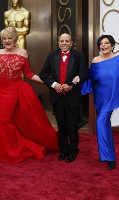Teve até dancinha da cantora Lorna Luft com a irmã Liza Minnelli LUCAS JACKSON / REUTERS