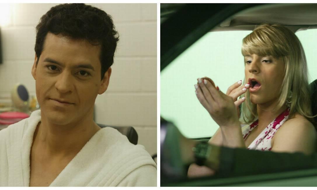 """Que tal Bruno Garcia de mulher na série da Globo """"Sexo Frágil""""? Montagem sobre fotos de Carlos Ivan"""