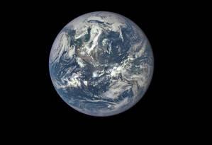 Câmara irá fotografar a Terra diariamente e imagens serão divulgadas a partir de setembro Foto: Divulgação NASA