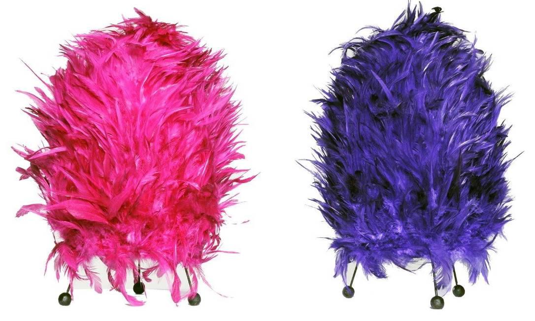 O depósito O Galpão tem opções em diversas cores de plumas, a R$ 360 Terceiro / Divulgação