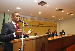 Secretário municipal de Promoção da Igualdade Racial, Maurício Pestana diz que há desigualdade na oferta de emprego para negros Foto: Divulgação/PMSP