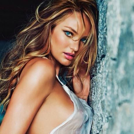 Candice Swanepoel: sensualidade no #flashbackfriday Foto: Instagram