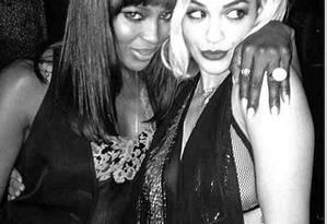 Melhores amigas: Naomi Campbell e Rita Ora exibem intimidade no Instagram Foto: Reprodução Instagram