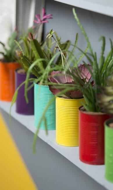 A ordem é customizar: as latas podem ser pintadas... Leo Martins / Agência O Globo