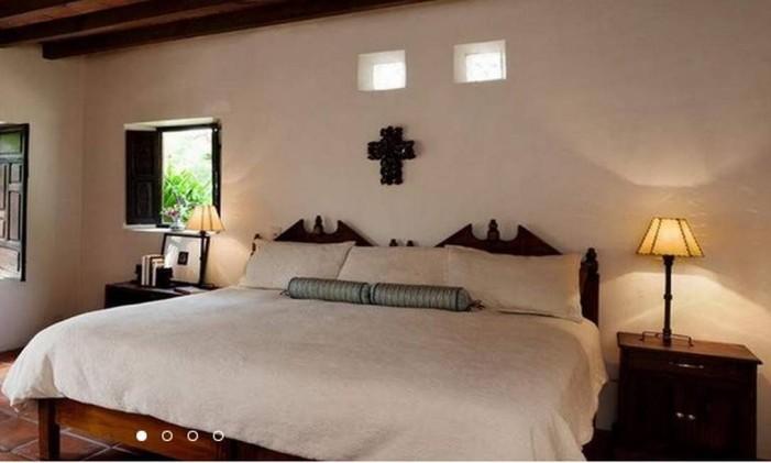 Quarto do hotel El Secreto de Pozos, no México Foto: Reprodução
