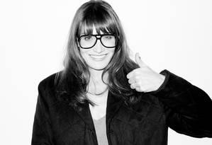 Carla Bruni: garota nerd para Terry Foto: Terry Richardson / Divulgação / Terry Richardson
