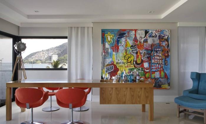 Quadro Grande Para Sala De Jantar ~ Quadros e fotos em grandes proporções reinam absolutos nas paredes e
