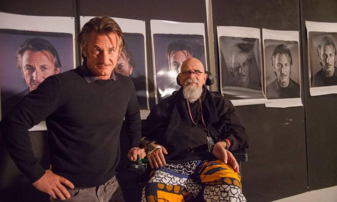 Sean Penn aos 53 anos, também não decepcionou Divulgação/Chuck Close/Vanity Fair