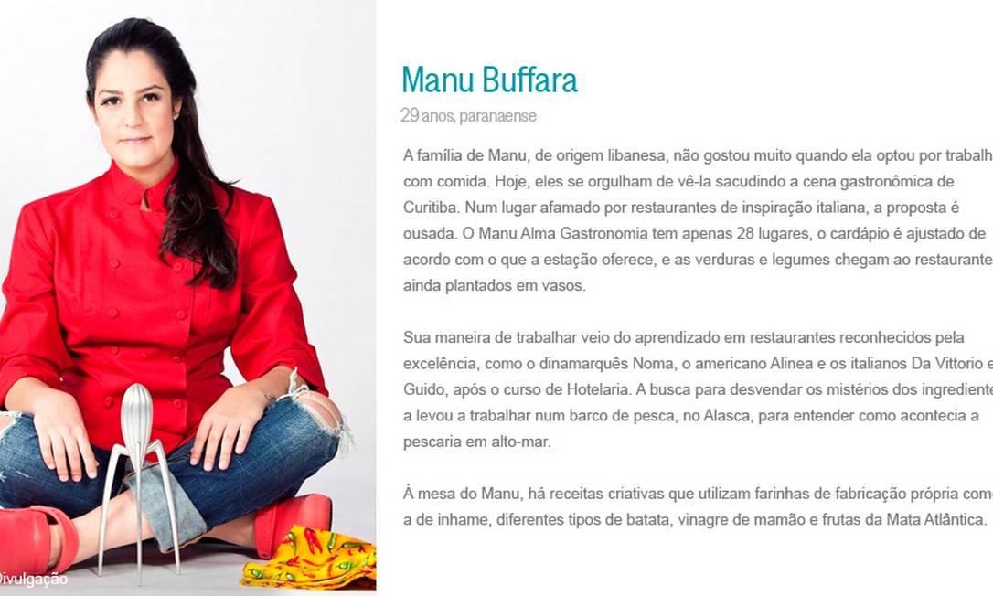 Manu Buffara Divulgação