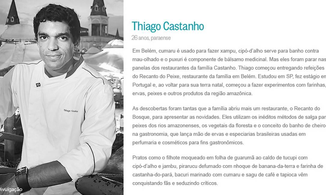 Thiago Castanho Divulgação