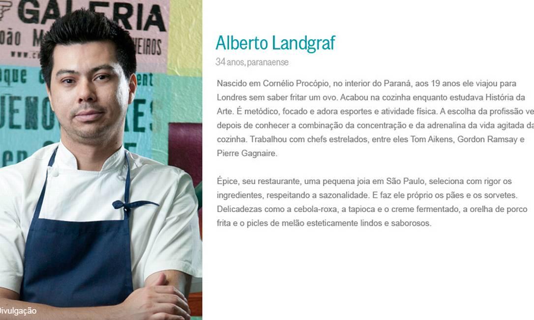 Alberto Landgraf Divulgação