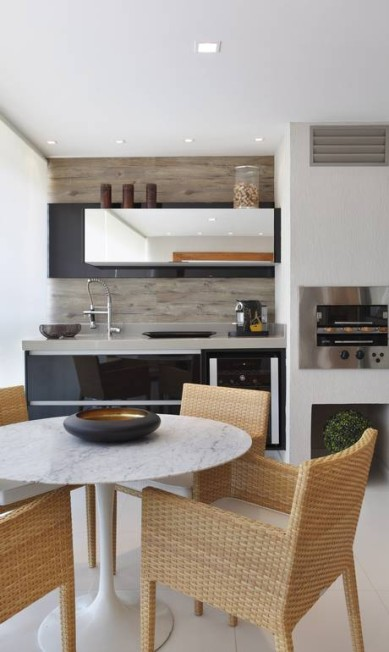 Em cozinha assinada por Patrícia Franco, modelo elétrico é destaque Terceiro / Divulgação