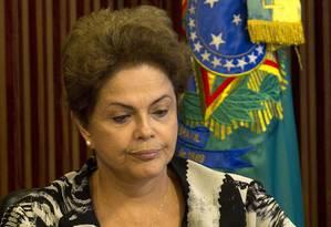 Presidente Dilma Rousseff Foto: Jorge William / Arquivo O Globo