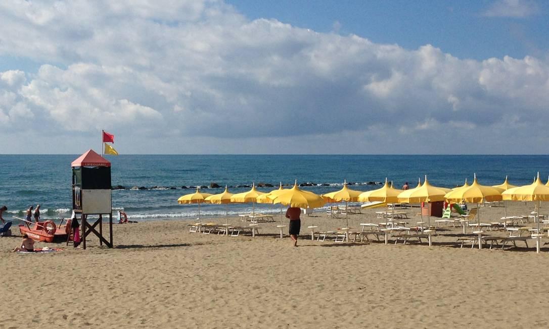 O L'Andana fica ao sul de Chianti e Siena e está perto de Grosseto, uma região da Toscana muito particular, já que a vegetação vai mudando ao se aproximar do Mediterrâneo Renata Araújo
