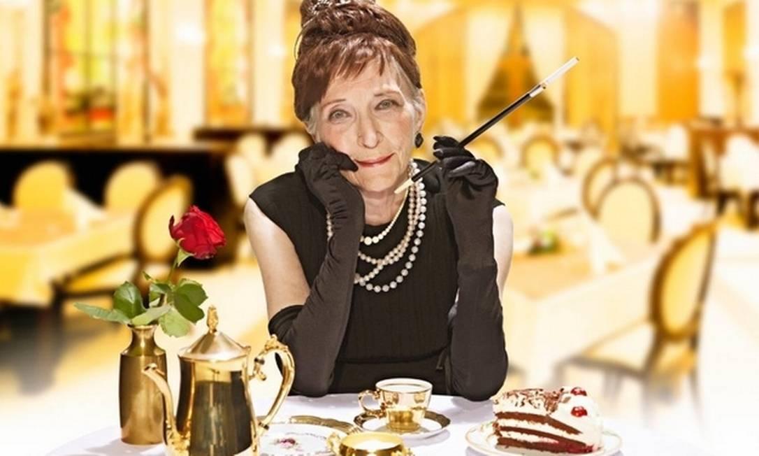 """Marianne Brunsbach, de 86 anos, virou a """"Bonequinha de Luxo"""", interpretada por Audrey Hepburn Divulgação"""
