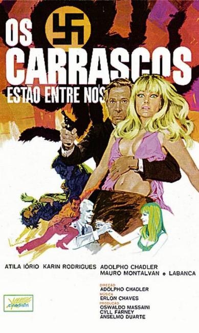 O primeiro pôster, de 1968, criado por Benicio Terceiro / Divulgação