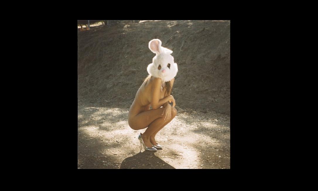 Foi assim que a modelo desejou feliz Páscoa para seus seguidores no Instagram Reprodução