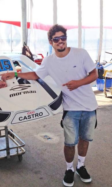 """Caio também compareceu ao """"Desafio Internacional das Estrelas"""" Divulgação"""