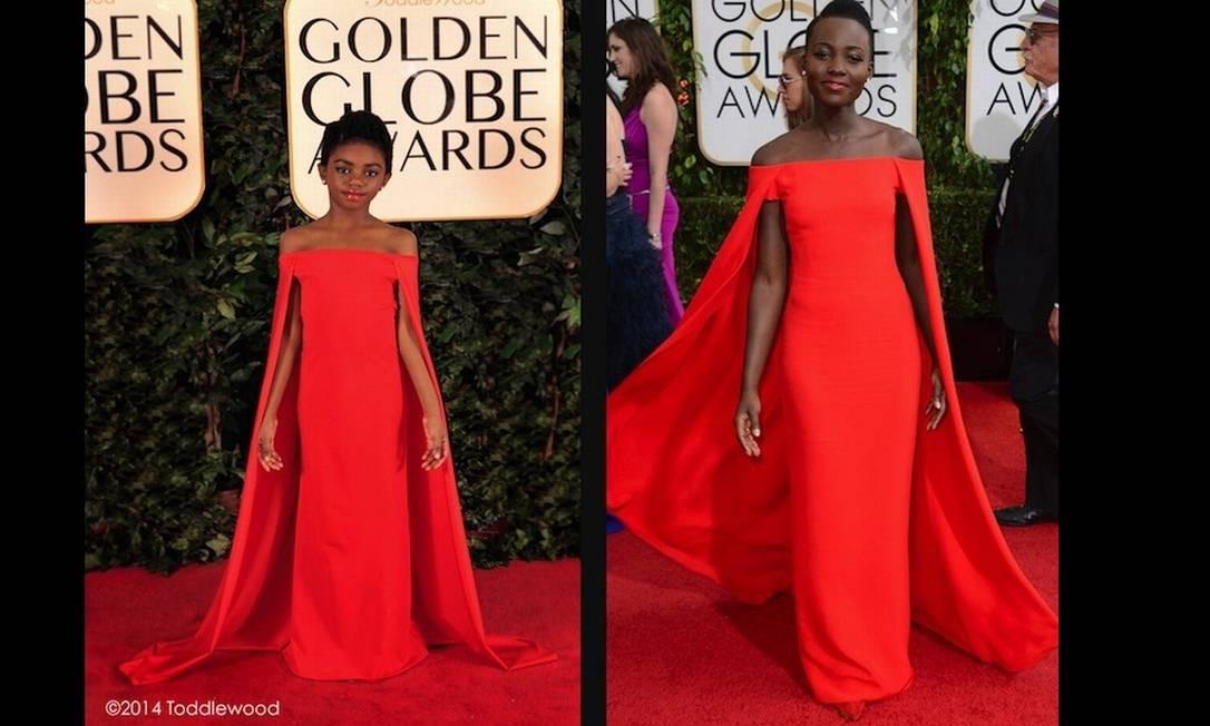 """A atriz queniana Lupita Nyong'o, de """"12 anos de escravidão"""" Divulgação"""