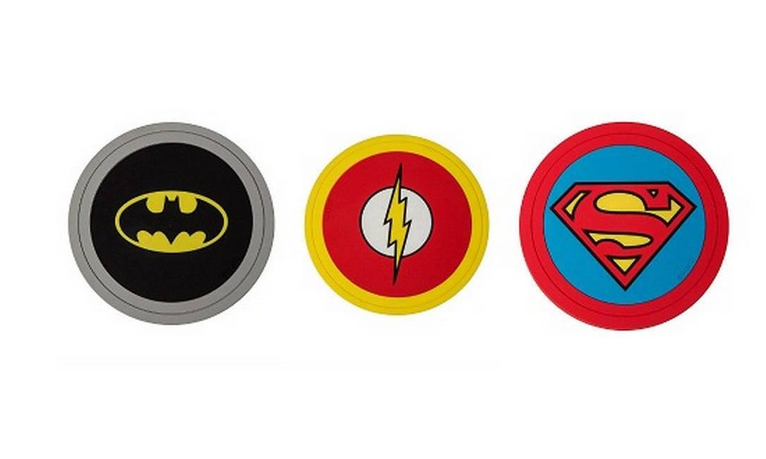 Super-heróis Loja Virtual (www.lojavirtual@designnmaniaa.com.br), R$ 60, cada Divulgação