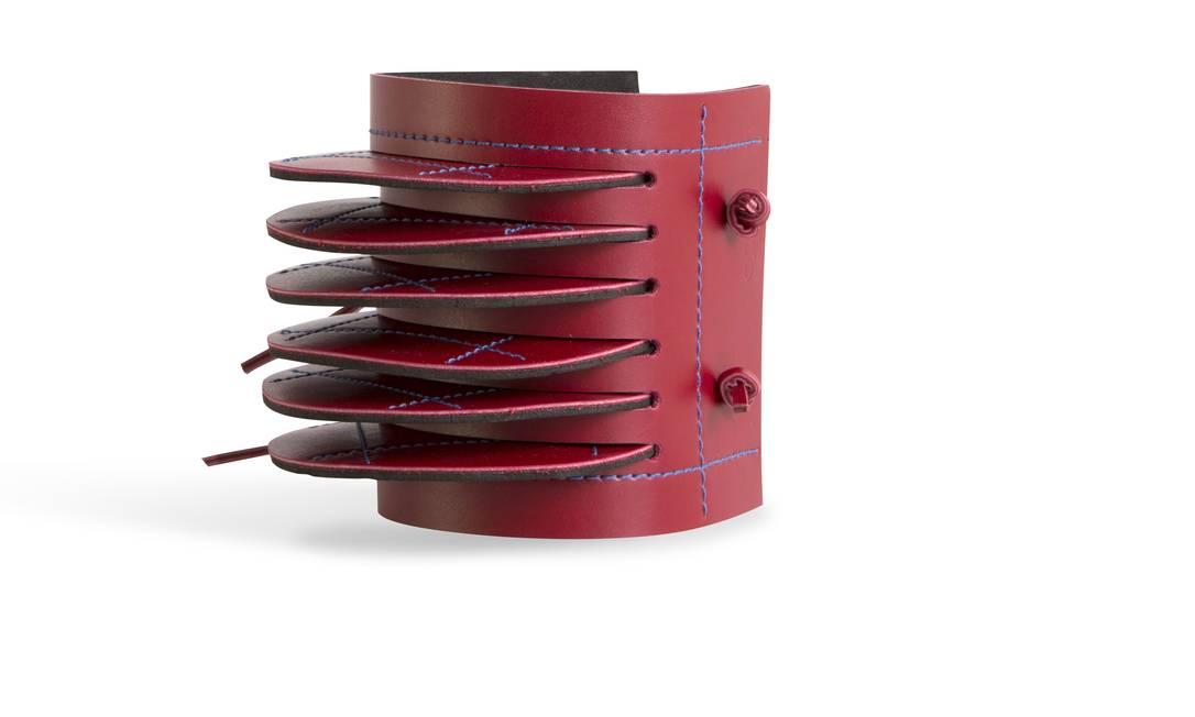 Bracelete Oppa (www.oppa. com.br), R$ 59,90 Terceiro / Divulgação