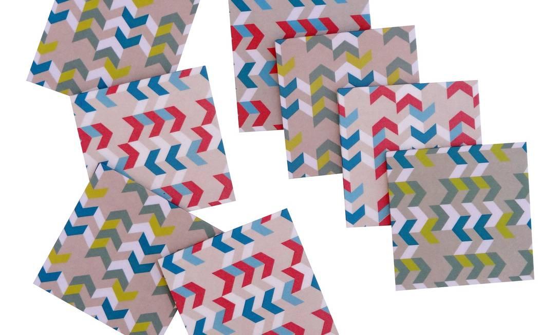 Gráfico Iva Home (www.lvahome.com.br), R$ 78, oito unidades Terceiro / Divulgação