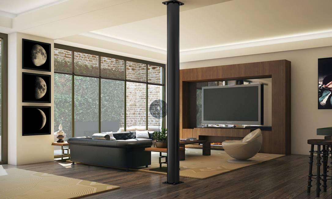 Após pesquisar vários apartamentos em áreas nobres de Manhattan, o ator escolheu um dos prédios recém-inaugurados mais modernos da ilha. Divulgação