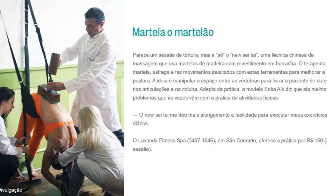 Martela o martelão Foto: Divulgação
