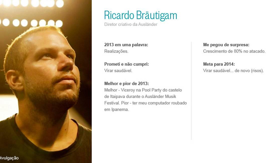 Ricardo Bräutigam Divulgação