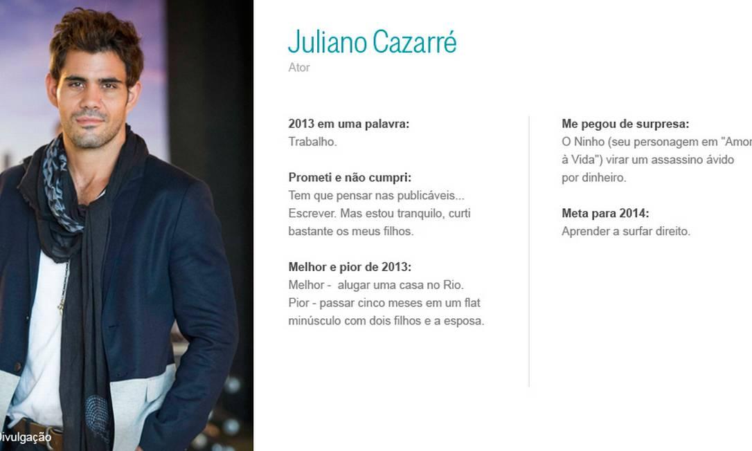 Juliano Cazarré Divulgação