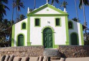 A igreja do o século XVII é um marco de Carneiros Foto: Lívia Breves / Agência O Globo