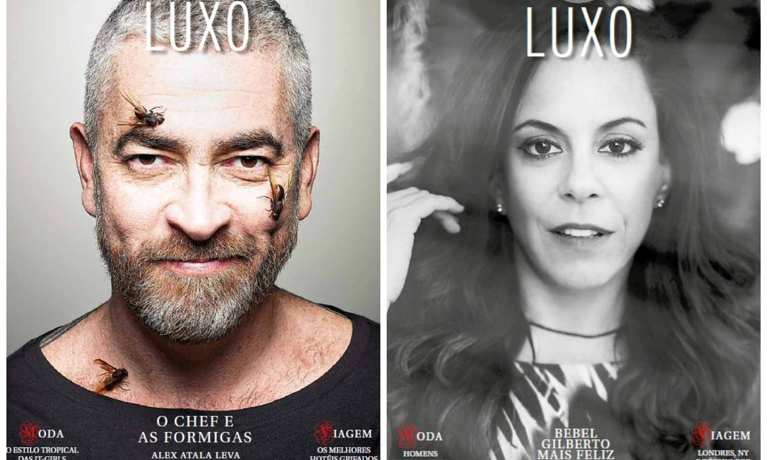Estamos ainda mais luxuosos: em novembro, foi lançada a ELA Luxo, a revista que traz o que há de mais exclusivo nos universos da moda, beleza, gastronomia, decoração... Montagem sobre fotos de reprodução