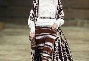 Dallas, no Texas, recebeu na noite de terça-feira o desfile da coleção Metiers d'Art da Chanel Foto: Tony Gutierrez / AP