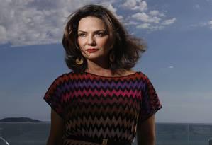 Luiza Brunet posa no Hotel Fasano, em Ipanema Foto: Camilla Maia / Agência O Globo