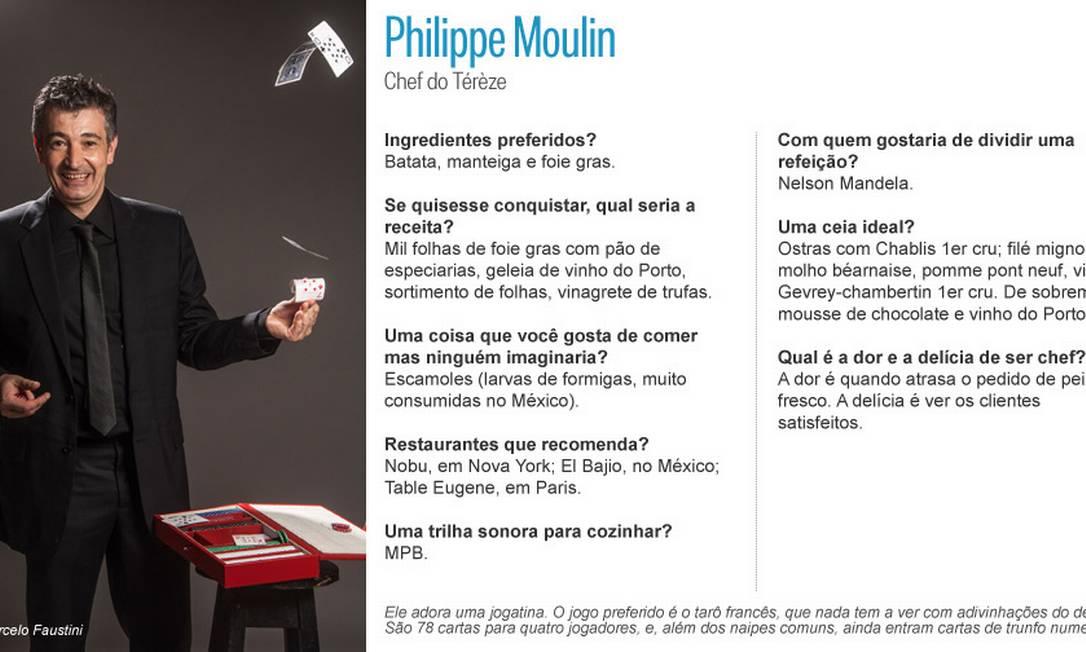 Carteado ocupa lugar de destaque no coração de Philippe Moulin, do Térèze Editoria de Arte