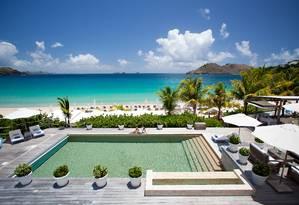 O grupo LVMH - detentor de marcas como Louis Vuitton, Kenzo, Givenchy e Fendi- comprou um hotel cinco estrelas na Ilha de St. Barths Foto: Divulgação
