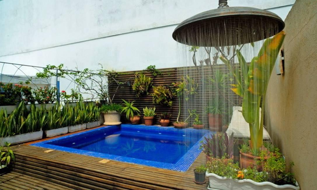 Em espaço em Ipanema, modelo de latão foi garimpado em uma fazenda em Minas Gerais Terceiro / Divulgação