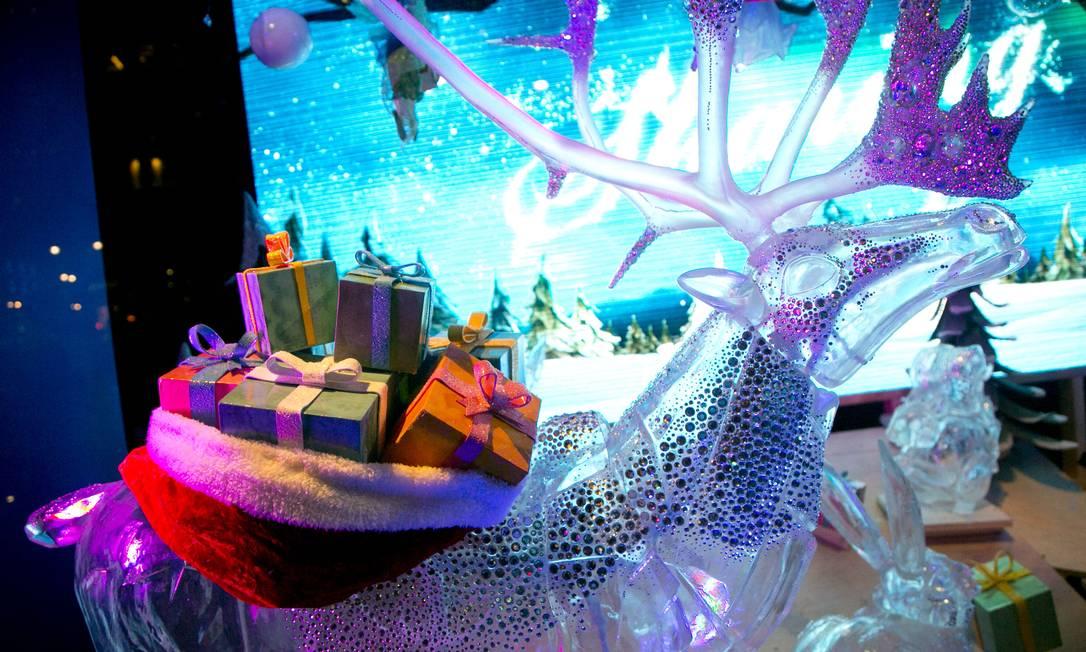 A magia do Natal da Macy's é sinônimo de presentes e luzes Mark Lennihan / AP