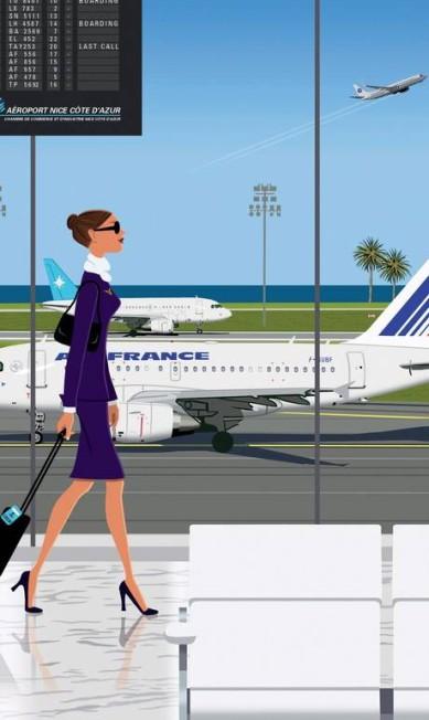 """Até o """"lifestyle"""" aeroporto de Nice já foi retratado Terceiro / Divulgação"""