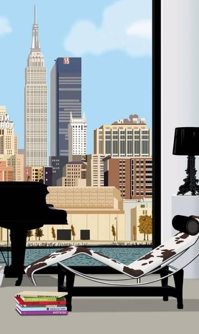 Na Ideat, outras cidades já ganharam os desenhos do baiano. Nova York é uma delas Terceiro / Divulgação