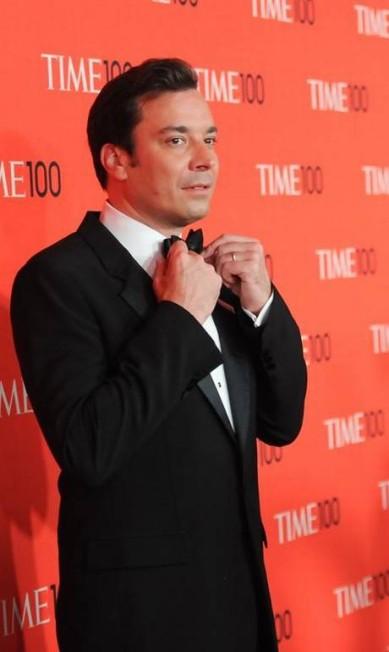 """O comediante Jimmy Fallon, que ganhou fama por suas atuações no """"Saturday Night Live"""", foi o quaro mais sexy escolhido pela revista. Atualmente é o apresentador do programa """"Late Night"""" da NBC Evan Agostini/Invision/AP"""