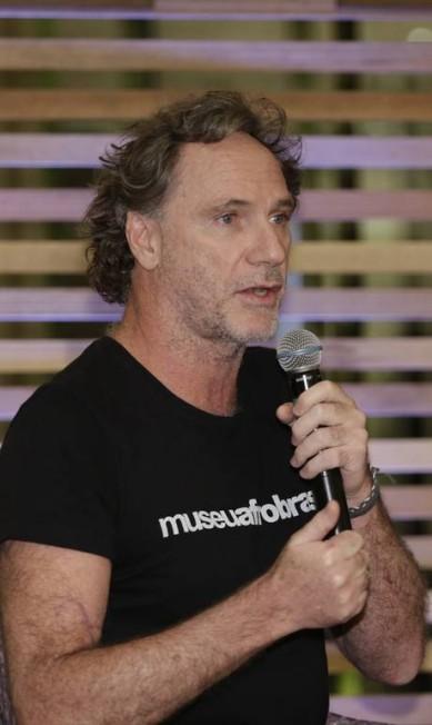 O diretor-criativo da Osklen, Oskar Metsavah, também participou do bate-papo Leo Martins / Agência O Globo