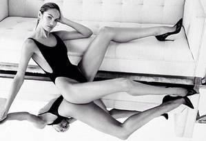 Candice Swanepoel voltou a ousar Foto: Reprodução/ Instagram