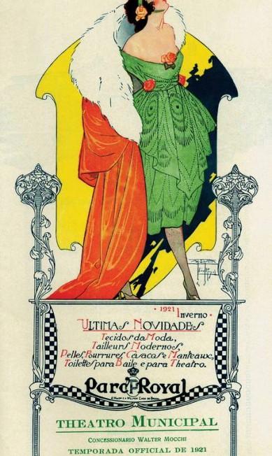 Moderninhas para a época, as campanhas mostravam a beleza e a elegância da mulher como uma força soberana diante do homem Terceiro / Agência O Globo