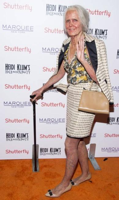 O incrível poder da maquiagem: até as pernas de Heidi ganharam veias aparentes Charles Sykes / Charles Sykes/Invision/AP