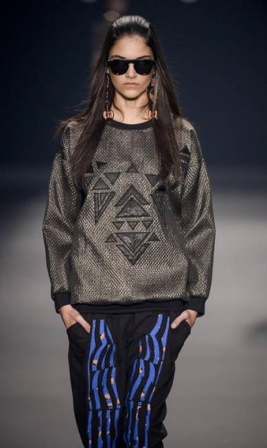 Os bordados e as aplicações ganharam destaque nos casacos Ze Takahashi / Ze Takahashi/FOTOSITE