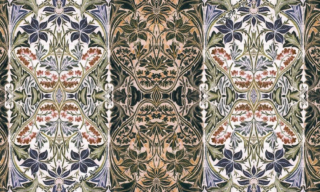 O inverno 2014 da Têca/Helô Rocha tem como inspiração o movimento artístico Art Nouveau. As estampas exclusivas da marca refletem o estilo Divulgação